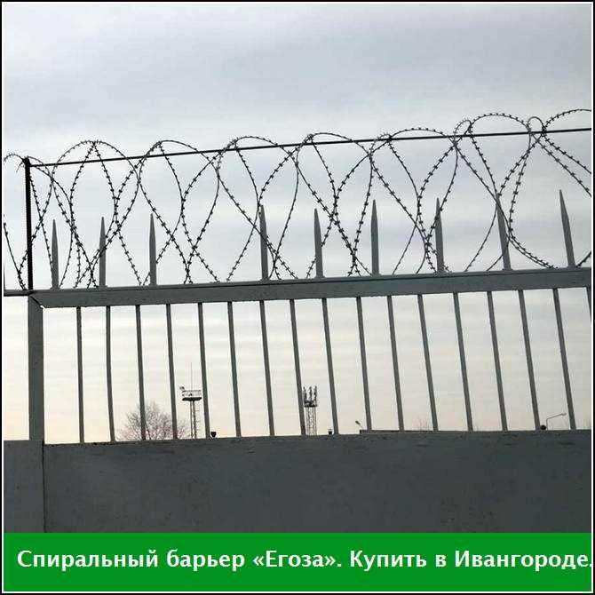 Спиральный барьер «Егоза» купить в Ивангороде